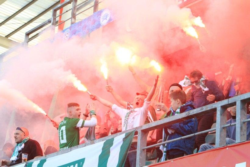 GALERII: Nõmme Kalju alistas liidrite derbis FC Flora