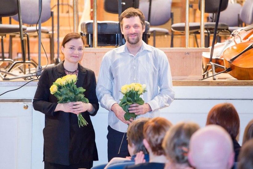 FOTOUUDIS: Eesti Muusika Päevade preemia said Helena Tulve ja Märt-Matis Lill