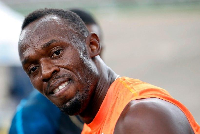 Sprindilegend Usain Bolt lõpetas 20 kuu pikkuse pausi