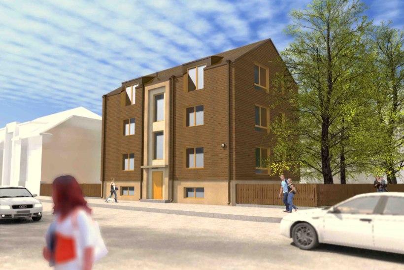FOTOD | Kalamajja ehitatakse neli uut kortermaja