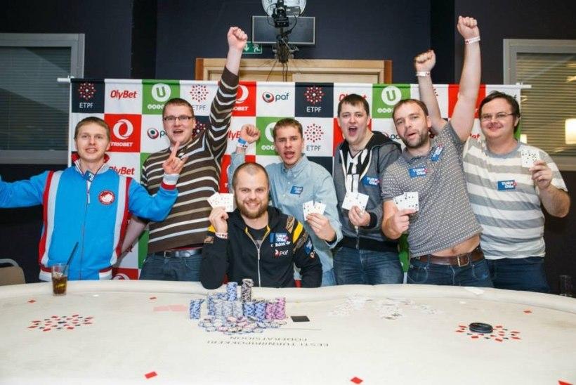 Vastloodud pokkerikooli mängijad tegid Eesti meistrivõistlustel puhta töö