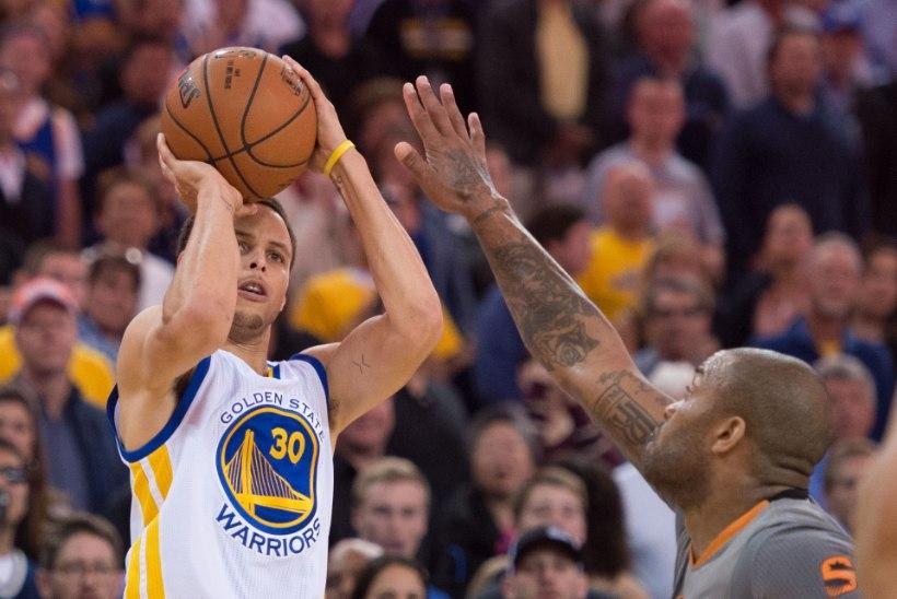 VIDEO | Stephen Curry argipäev: 77 tabatud kolmest järjest