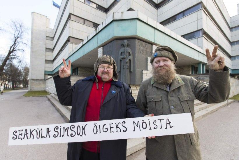 Nalja pole: Seaküla Simson mõisteti politseimantli kandmise eest süüdi
