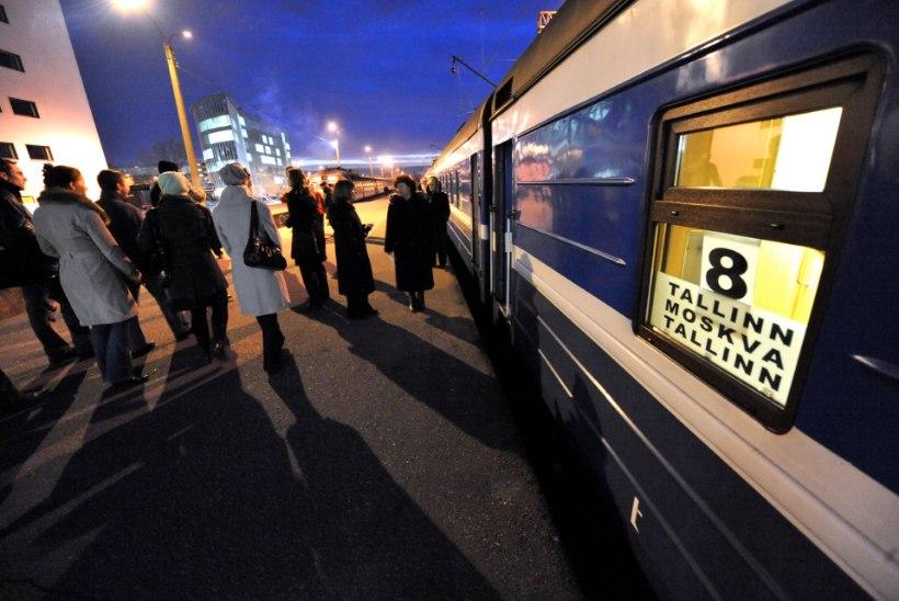 GoRail peatab teadmata ajaks Peterburi ja Moskva rongiliikluse
