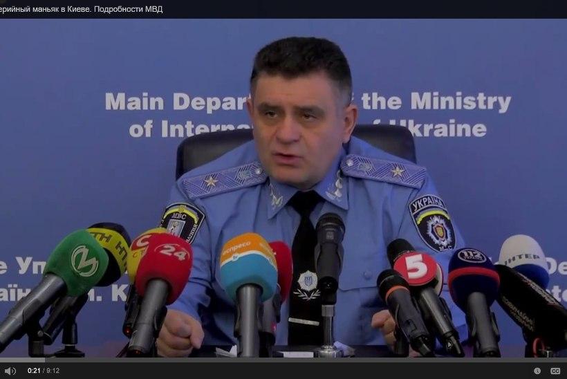 Kiievis tabati sarimõrvarist nekrofiil