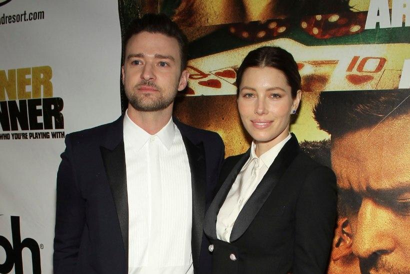 Justin Timberlake'i poeg sai nime vanaisa järgi