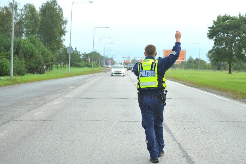 Politsei: Eesti autojuhid kipuvad kihutama