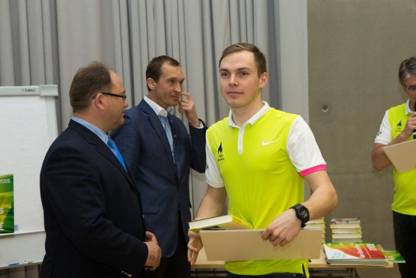 FOTOD: kes noortest ja andekatest sportlastest saavad EOK toetust?