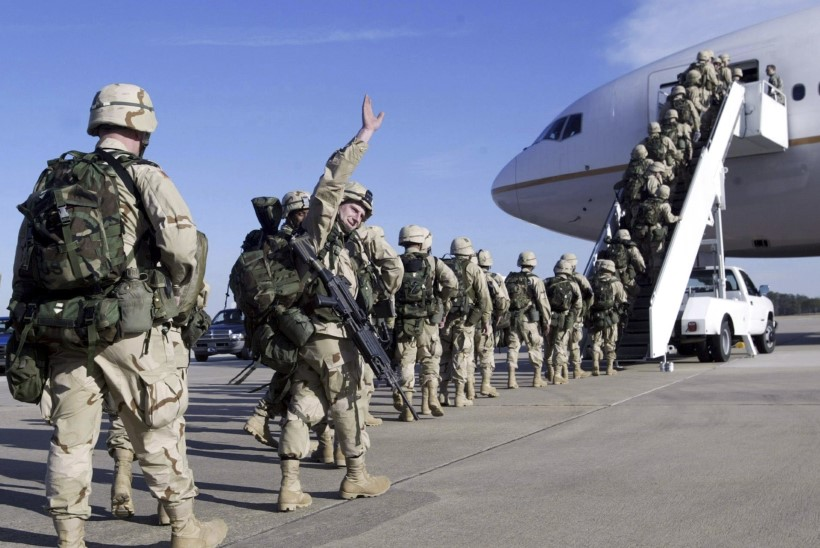 Ukrainasse saabusid USA sõjalised instruktorid