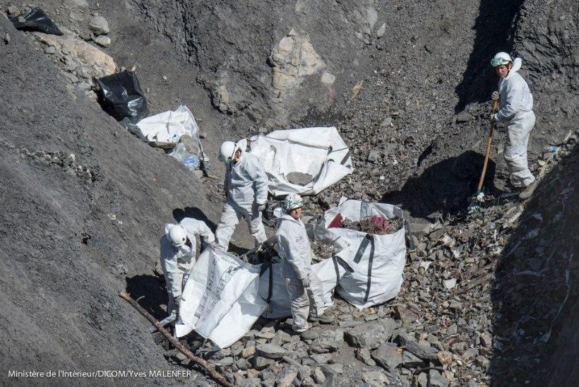 Koristustööd Germanwingsi katastroofipaigas lõppesid