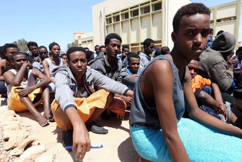 Miljon põgenikku ootab Liibüas sõitu üle Vahemere Euroopasse