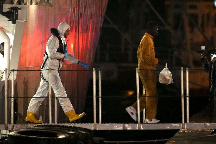 Itaalia vahistas pühapäeval Vahemerel uppunud põgenikelaeva kapteni