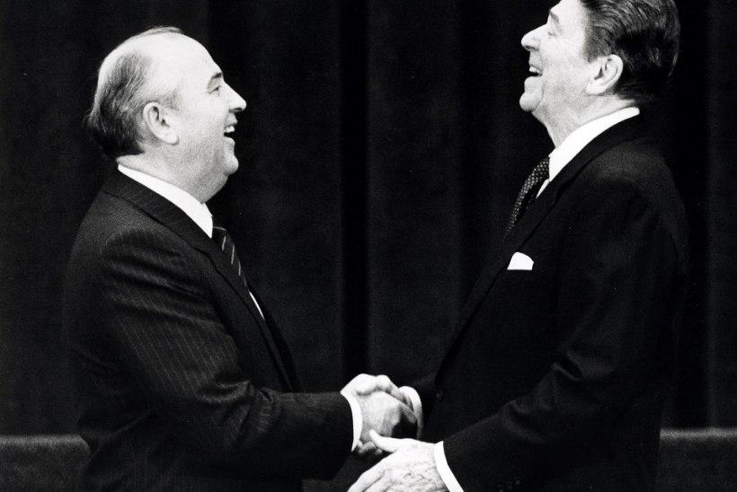 Reagan kutsus Gorbatšovi tulnukatega võitlema