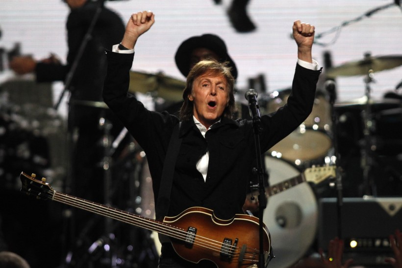 Briti jõukaimate muusikute edetabeli tipus troonib jälle Paul McCartney