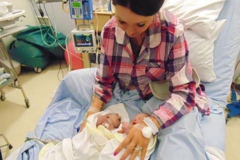 Vaid poolteist tundi elanud vastsündinust sai noorim elundidoonor