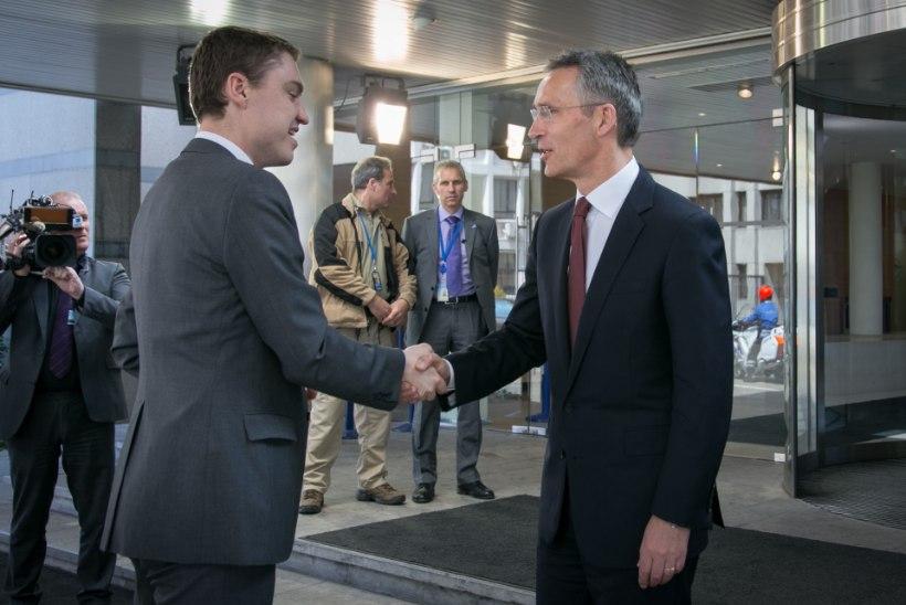 FOTOD   Rõivas kohtumisel Stoltenbergiga: värskelt ametisse asunud valitsuse prioriteediks on julgeolek