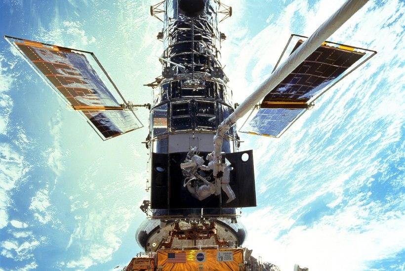 Teleskoop, mis toob kosmose ilu igaühe silme ette, sai 25aastaseks