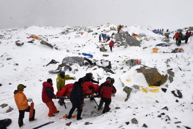 Nepali maavärinas hukkus kivilaviini alla jäänud Eesti kodanik