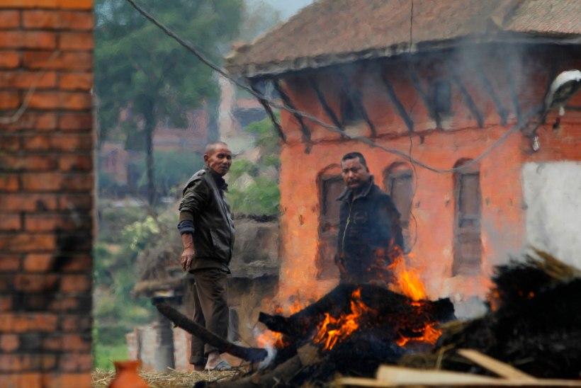 Nepali ja Indiat tabas tugev maavärina järeltõuge