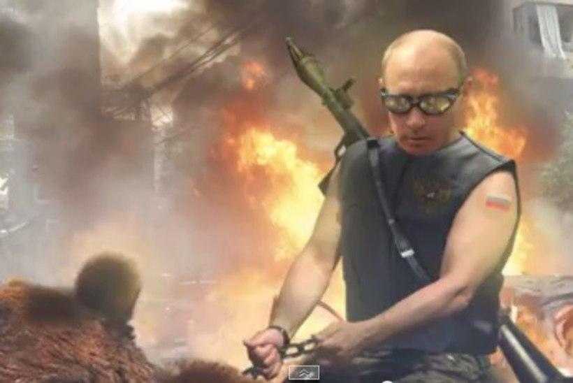 Obama ja Putin võitlevad arvutimängus Lenini zombide armee vastu