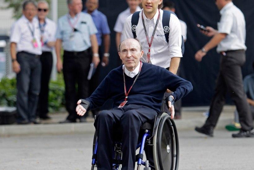 Frank Williams lahkub F1-sarjast vaid jalad ees