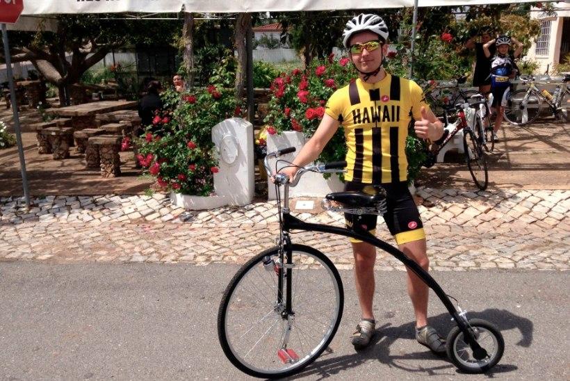 Norman Salumäe pool elu möödub jalgrattal