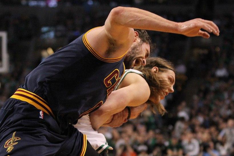"""""""Võsakorvpallur"""" lõpetas Cavaliersi staari hooaja"""