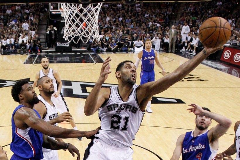 Houston ja Habe ootavad Clippers-Spurs võitjat, raju kohtumise võitis Spurs