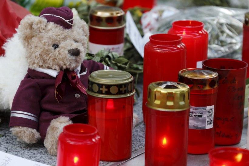 MUST KAST KINNITAB: Germanwingsi lennuk kukutati tahtlikult