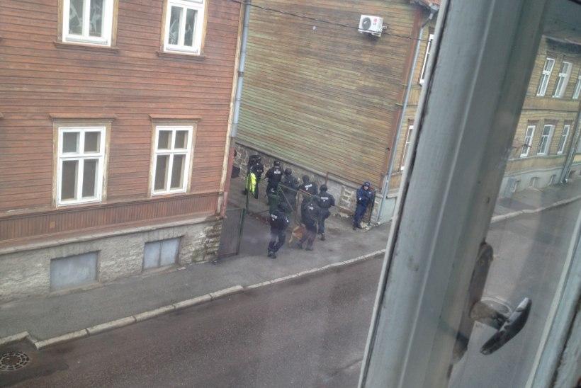 FOTOD | Tallinnas Sügise tänaval tulistati ühest majast teise
