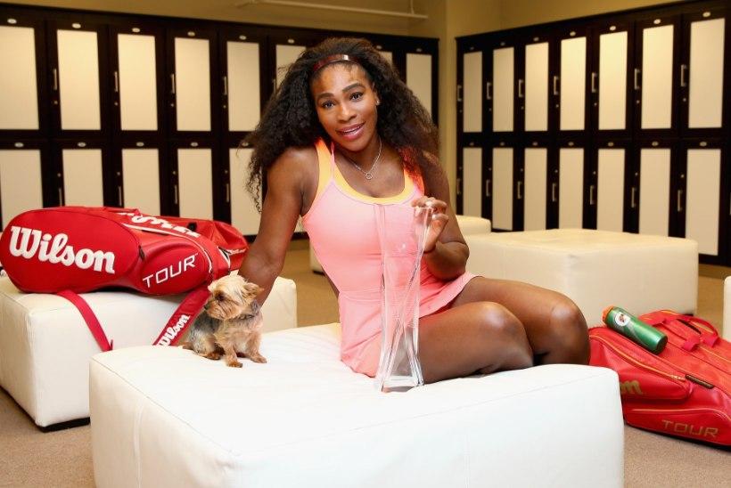 Serena Williamsi jaoks oli Miami tiitli vormistamine kui lapsemäng