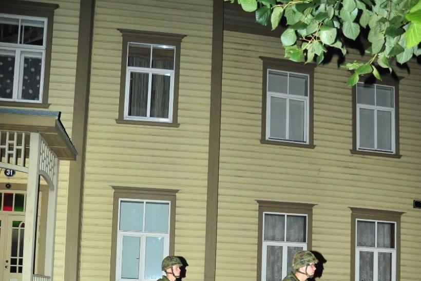 Suurtükiväelased peavad Rakveres ja Kadrinas õppelahinguid