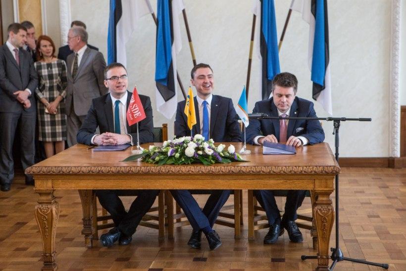 Koalitsioonileping sõlmiti jalad ristis ehk Kuidas Taavi Rõivas oma teise valitsuse lõpuks valmis sai