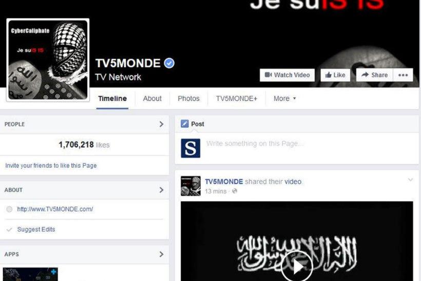 Prantsusmaa telekanalit tabas Islamiriigi küberrünnak