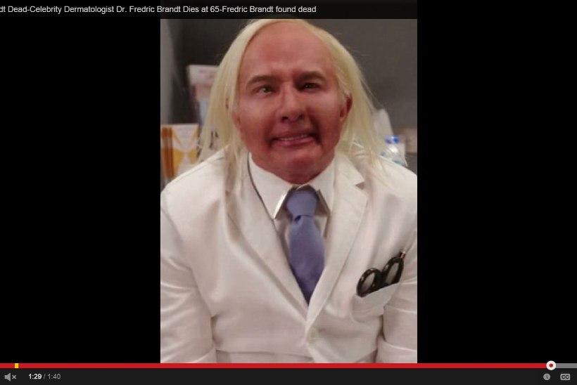 Kas mr Botox tappis end julma paroodia pärast?