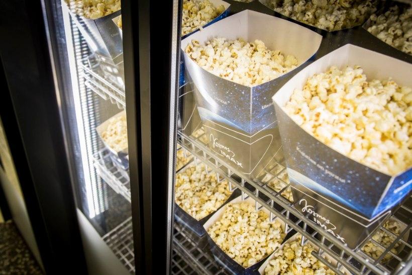 Eesti kinosõbrad söövad aastas üle 27 tonni popkorni