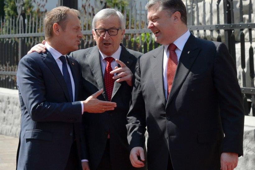 Pinged püsivad: Porošenko kardab Venemaa rünnakut
