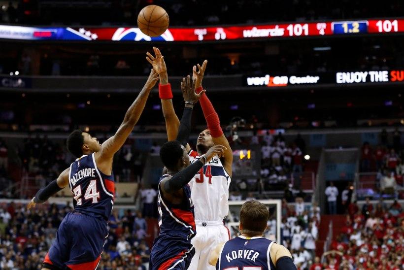 Washington munes korraliku muna, NBA suurfavoriit aga püsti hädas