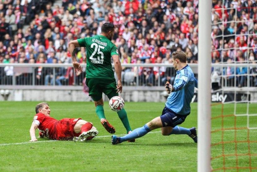 Ragnar Klavan ja Augsburg võitsid Müncheni Bayernit, maailma kõige keerulisemalt alistatavat tippklubi!