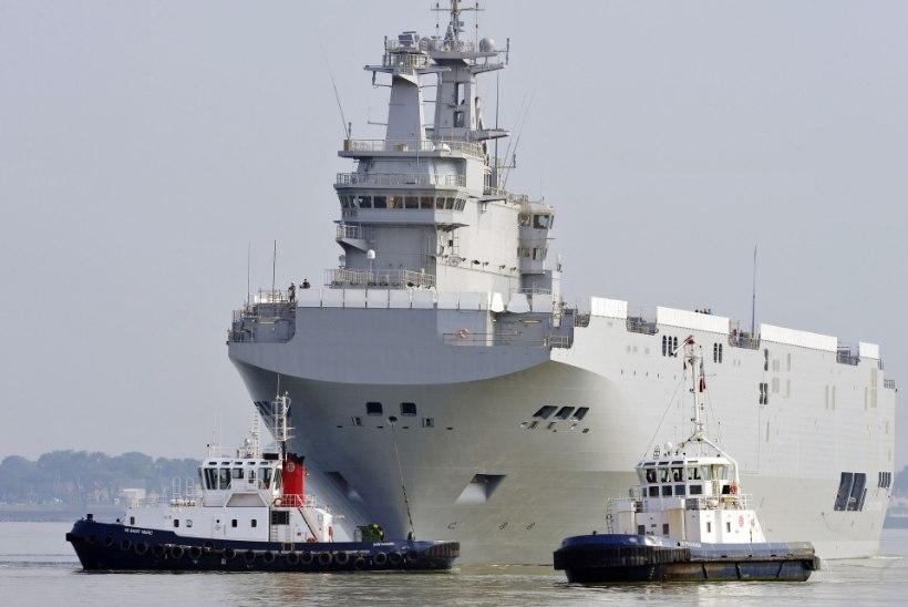 Venemaal ja Prantsusmaal pole Mistralide asjus kokkulepet