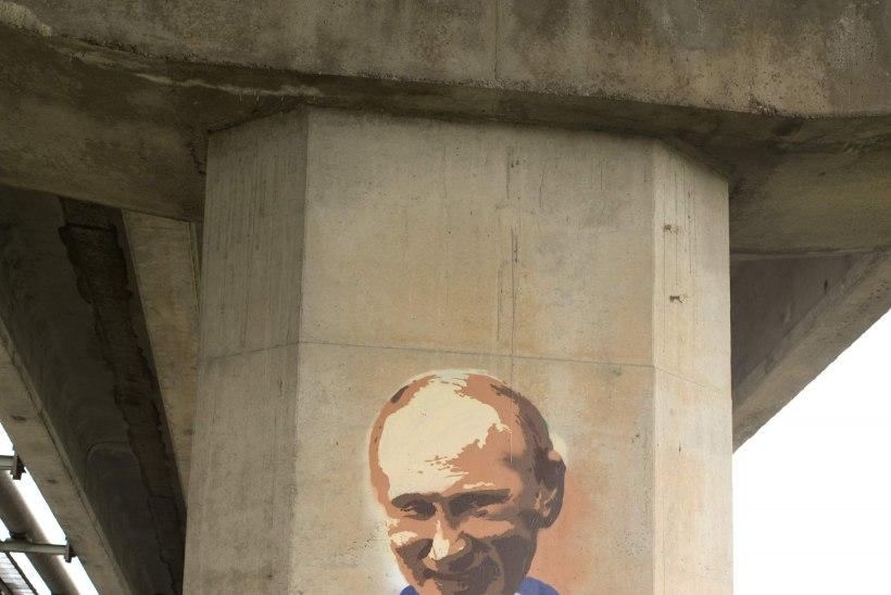 SILLAPOSTIDELE PRESIDENDID MAALINUD GRAFITIKUNSTNIK: minu töös poliitikat ei olnud!