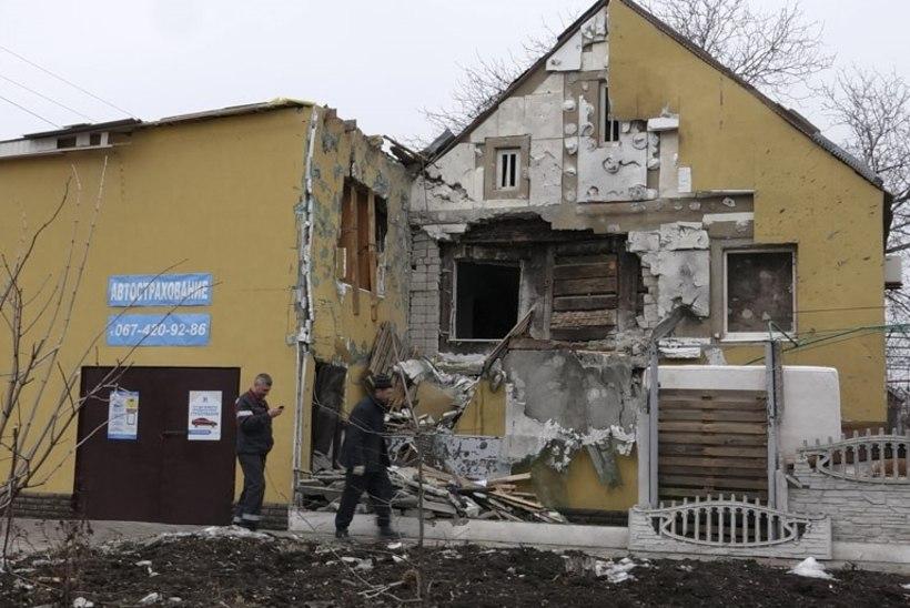 Urmas Paetile avanes Ida-Ukrainas masendav vaatepilt: Ukraina kaitseliini tulistatakse iga päev