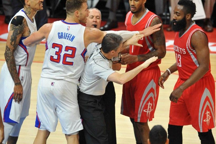 NII SEE JUHTUS | Rockets tegi imet ja Clippers tõugati mutta