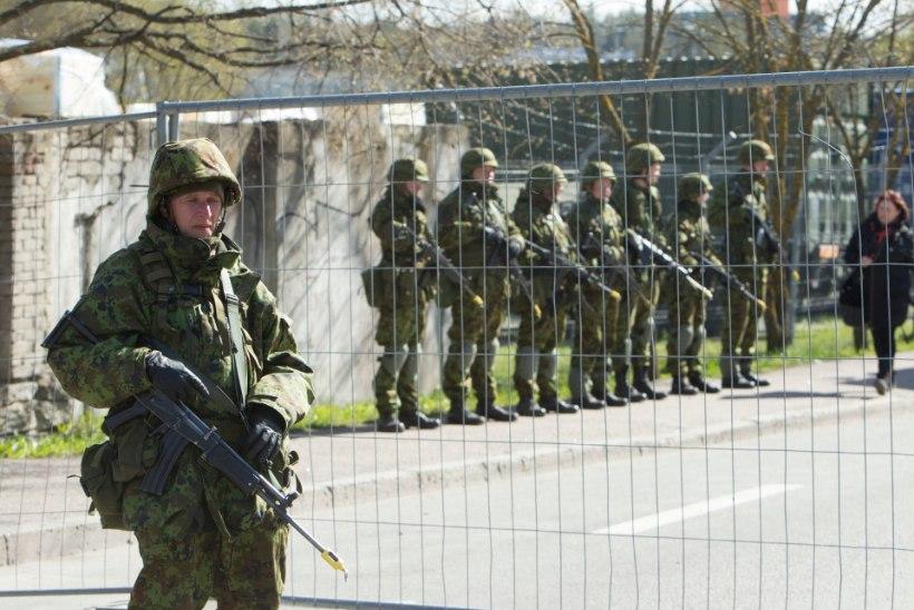 Siilil osalenud reservväelastel tuleb järgmisel kuul püksirihma pingutada