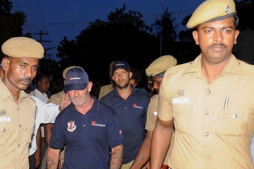 Eesti laevakaitsjad Indias saavad kätte oma isiklikud asjad