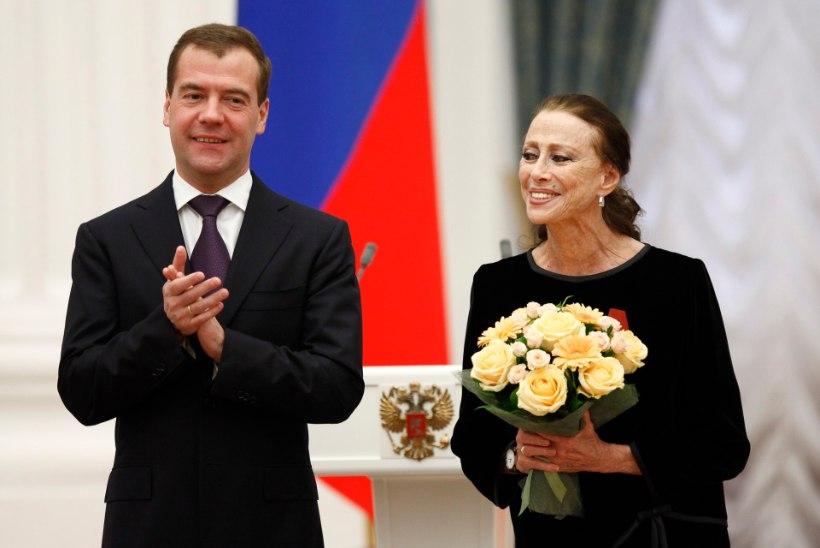 Suri kuulus Vene baleriin Maia Plissetskaja
