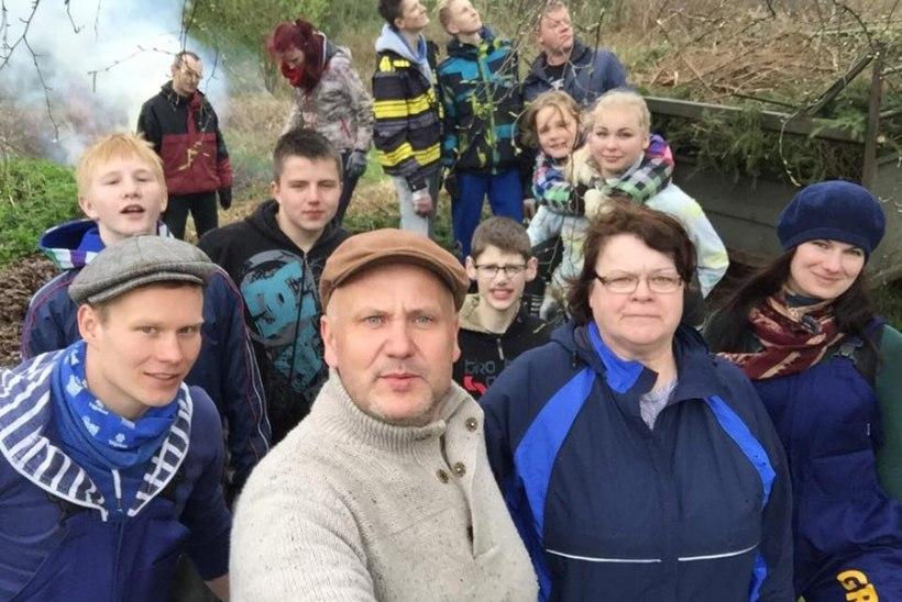 FOTOD: Kuidas Tartumaal talgupäeva peeti