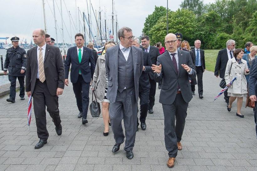President Ilves rõhutas Kielis Eesti-Saksa teadlaste koostöö tähtsust