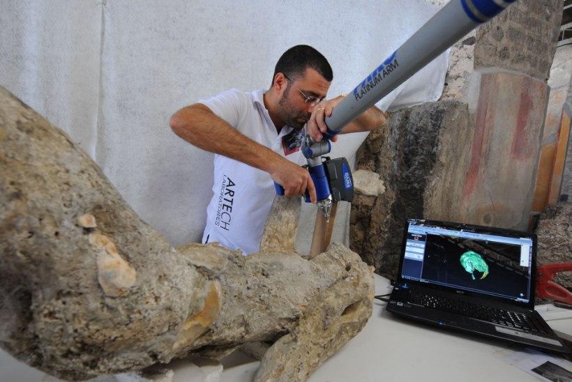 GALERII | Vulkaanipurskes hukkunud iidse linna Pompei elanikud