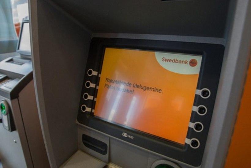 Swedbanki elektrooniliste kanalite töös võib nädalavahetusel esineda häireid